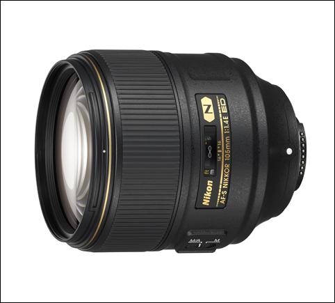 AF-S NIKKOR 105mm f1.4E ED 렌즈 이미지 컷